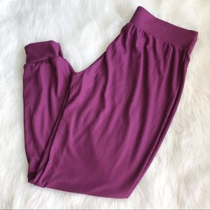 Victoria's Secret Intimates & Sleepwear - Victoria's Secret • Maroon Lounge Pants